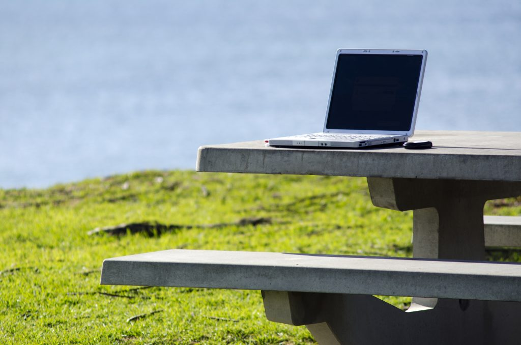 creative space, outdoor office